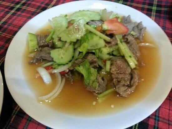KoDam Kitchen : Beef salad