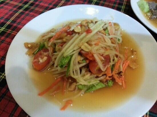 KoDam Kitchen : Papaya salad