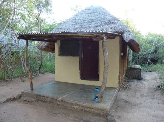 Shalati Adventure Lodge: onze hut