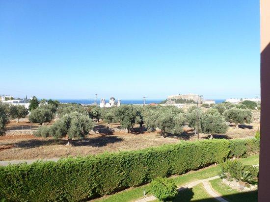 Eleni's Studios: Lookin towards Lindos village