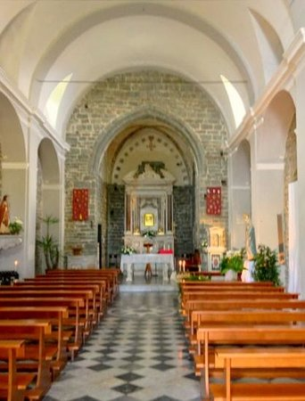 Church Interior Volastra