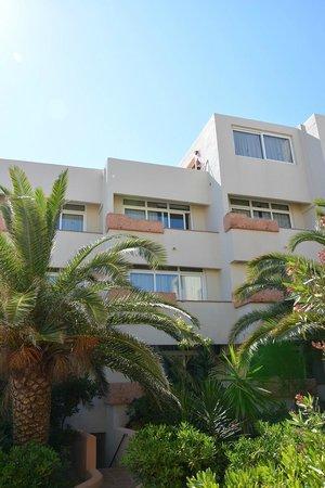 Apartamentos Portusaler : terrazas de los apartamentos