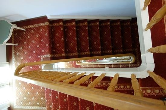 Hotel Central Kriens: Staircase