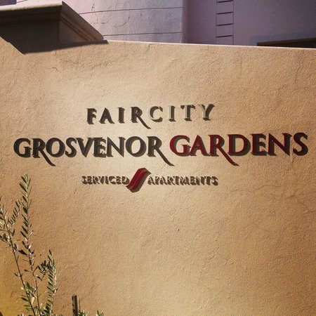 Faircity Grosvenor Gardens: Safe and pleasant exterior