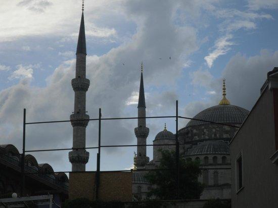 Hotel Seraglio: moschea blu vista camera