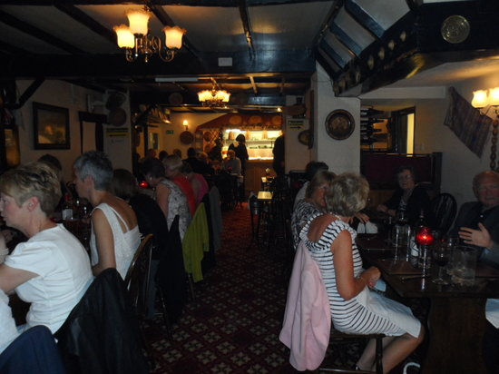 George Michael's: Enjoying the food and the Greek music