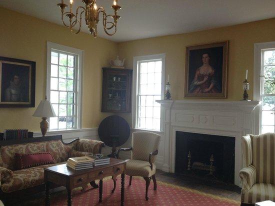 Penelope Barker House Welcome Center: Interior