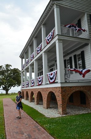Penelope Barker House Welcome Center: Front of the house