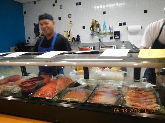 Ichiban: sushi bar