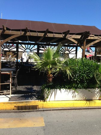 Cafe Del Mare : ärea externa