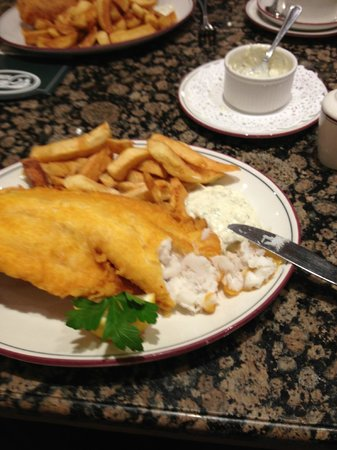 Trenchers: Cod and Chips