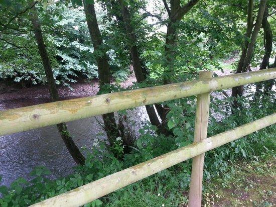The Bridge Inn: the stream