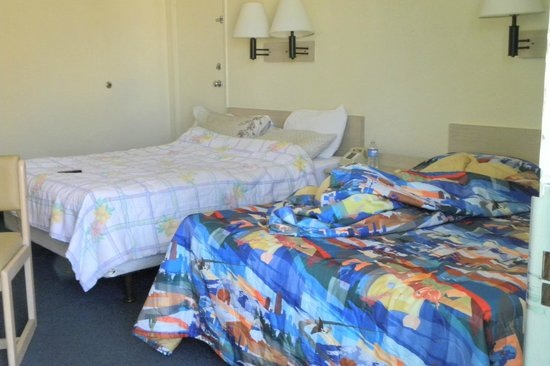 Motel 6 Cocoa Beach : beds