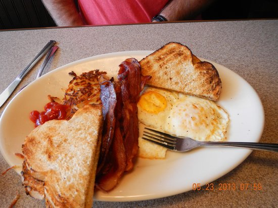 Big Island Grille & Bar : Breakfast