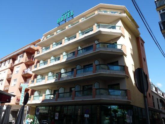 Hotel Torremar: Fachada del Hotel