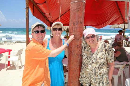 Freedom In Paradise : Finding a message a friend left us!
