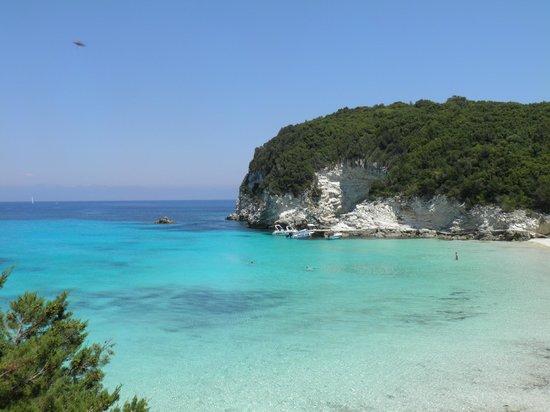 Anti Paxos Beach Bild Von Vellianitatika Retreat Gaios Tripadvisor