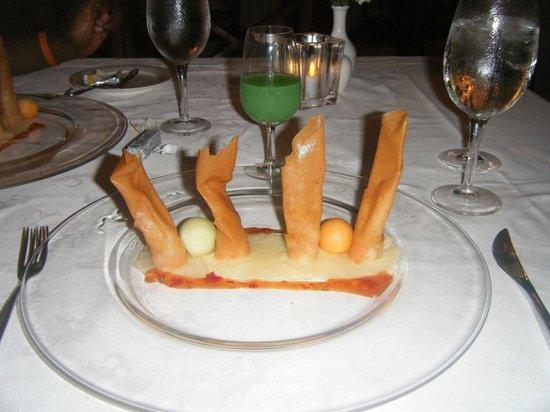 Grand Bahia Principe Jamaica: don pablo shrimp appetizer