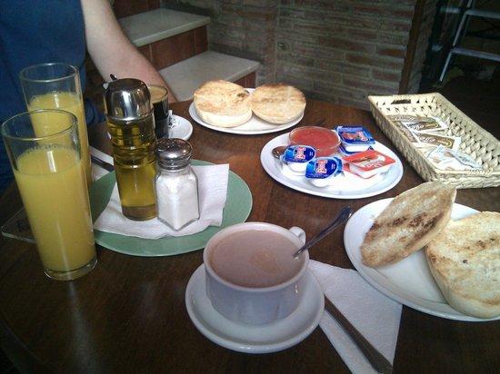 Hotel San Francisco - Ronda: Desayuno genial