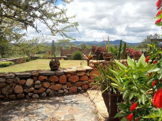 Masai Eco Lodge : Masai Eco  Lodge view of Orini Hills