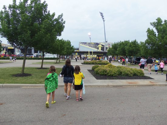 Mapfre Stadium: Going into the Stadium