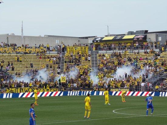 Mapfre Stadium: Holligans!