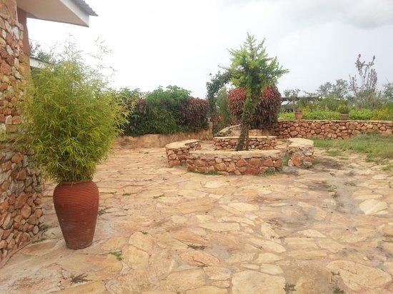 Masai Eco Lodge Elders Stone Seat