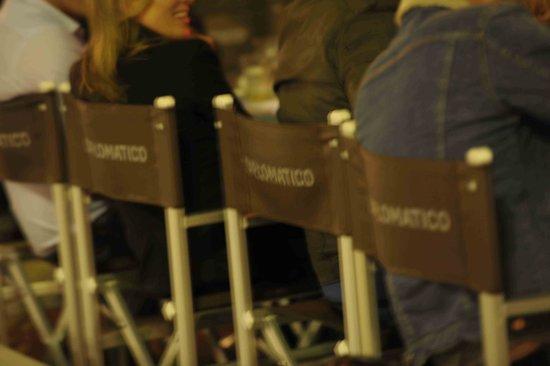 Diplomatico : chaises exterieures