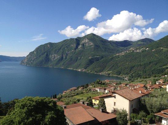 View from castello di zorzino - Picture of Zorzino Castle, Riva di ...