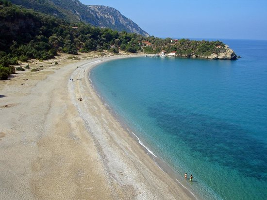 Karlovasi, Greece: seitani beach