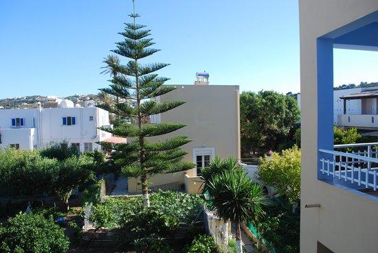 ApartHotel Papafotis: Utsikt från balkongen