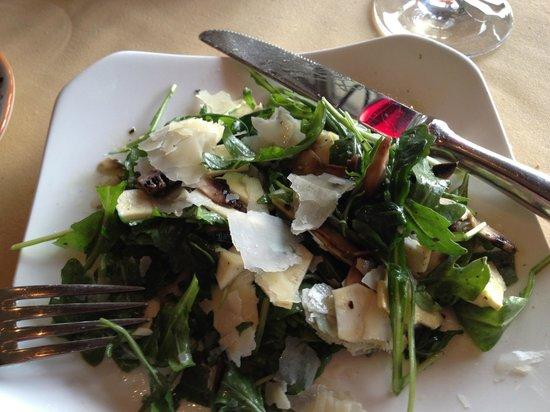 Peppoli at Pebble Beach: Arugula Salad