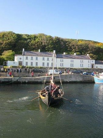 Manor House Rathlin Island: Our first guests of the year arrive in traditional style