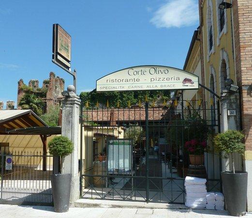 Corte Olivo: der Eingangsbereich des Restaurants