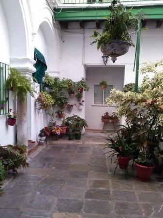 Apartamentos Jerez: vista del patio dll'ingresso