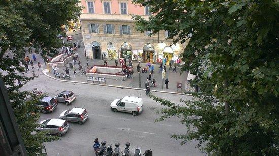 B&B Gaius Roma: Вид из окна