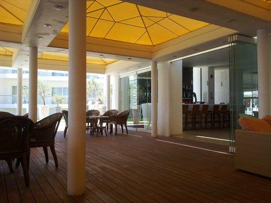 Kolymbia Beach Hotel: area relax