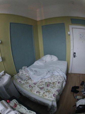 Hotel Villa: apres une nuit courte