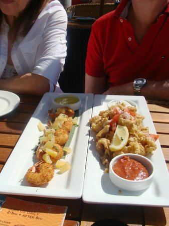 Glo Restaurant & Lounge : Calamari
