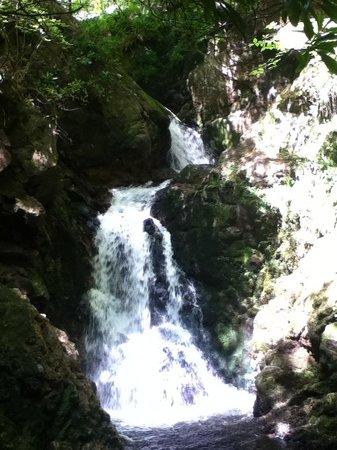 Big Burn Walk: The waterfall
