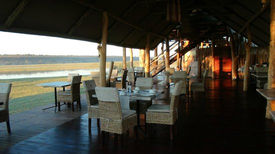 Chobe River Camp: View from the diningroom
