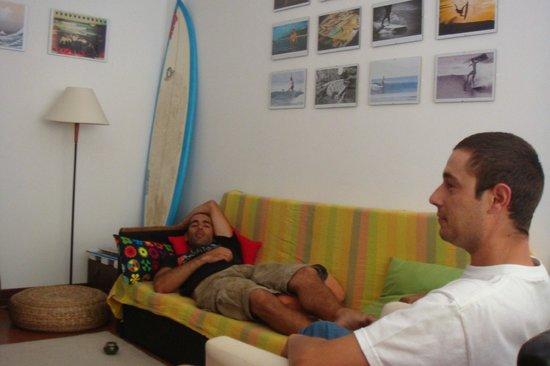 Supadupa Surfhouse: The Living Room
