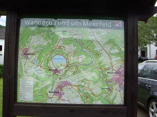 Brunnenstubchen: kaart Meerfeld