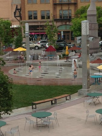 The Fountain in the Square - Downtown Rapid City