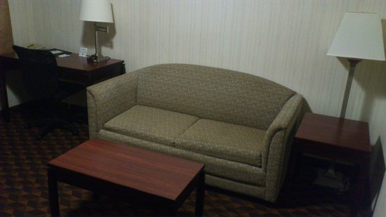 Quality Inn & Suites Los Angeles Airport - LAX: Wohnzimmer (Deluxe Suite)