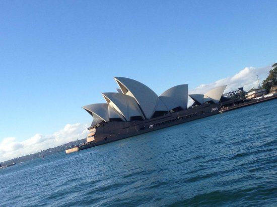 Sea Sydney Cruises: Amazing views from the deck