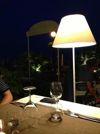 Terrazza Parioli: Cena lungomare