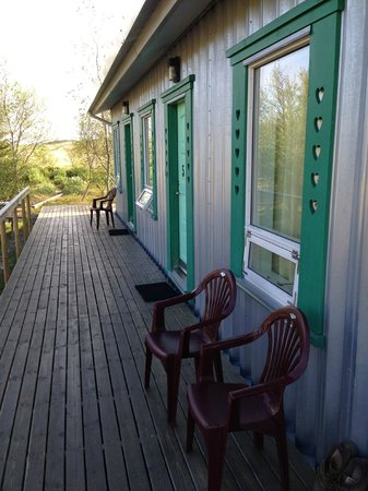 Vinland Guesthouse: Outside