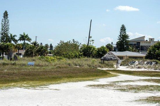 Flamingo Inn: The beach path