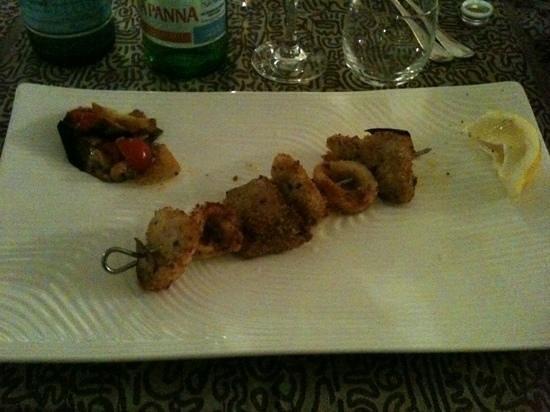 Zingaro Hotel: spiedino di pesce